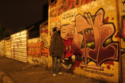 Papy, tu découvres l'art Graff?