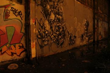 Un des nombreux Graffs du site